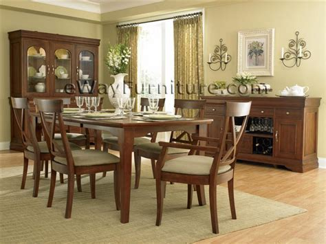 black cherry dining room set