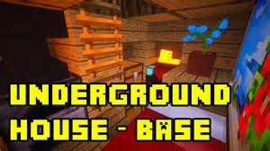 Minecraft Bedroom Ideas minecraft simple underground base house tutorial 3x3 xbox
