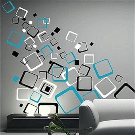 square wall stickers multiplex square wall decals trendy wall designs