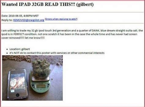 I Posted An Ad On Craigslist This Morning To Rent by Craigslist Ads The Most Hilarious And