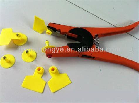 Ear Tag Aplikator Hewan Cina veterinary instruments animal cattle ear tag applicator jh ebq shishen china trading