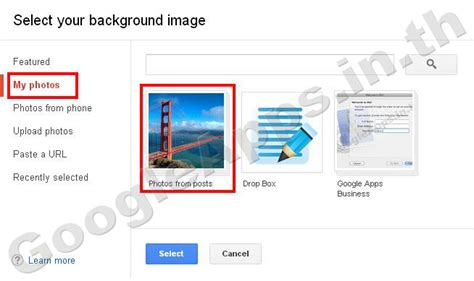 themes for google mail how to custom the background with an image in google mail