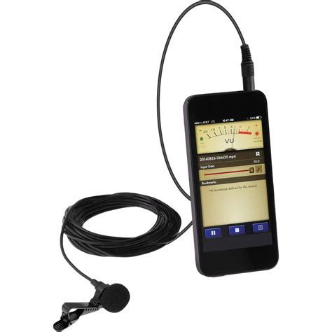 microphone mobile polsen mo pl1 lavalier microphone for mobile devices mo
