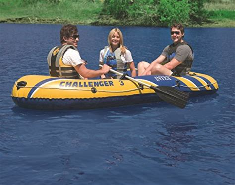 inflatable boats qatar intex challenger 3 3 person inflatable boat buy online