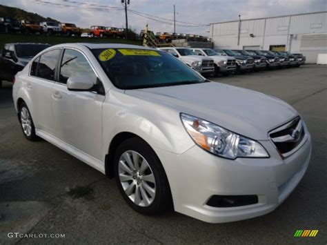 2010 Subaru Legacy 3 6r Limited by Satin White Pearl 2011 Subaru Legacy 3 6r Limited Exterior