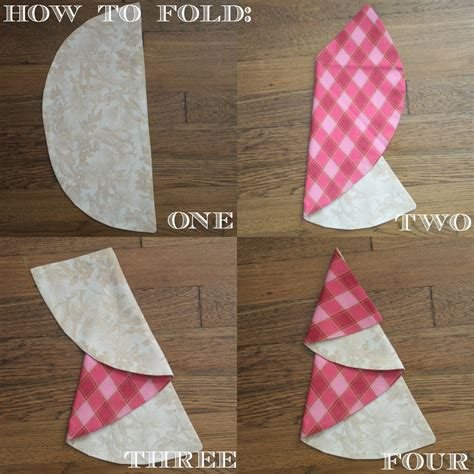 christmas tree napkin tutorial by sew caroline skip to