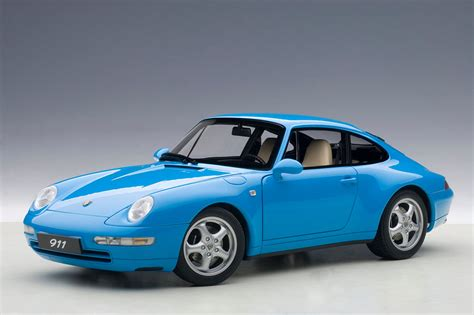 porsche riviera blue autoart 1995 porsche 911 carrera 993 riviera blue