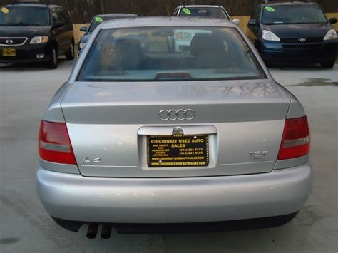 2000 audi a4 quattro 1 8 t 2000 audi a4 1 8t quattro for sale in cincinnati oh