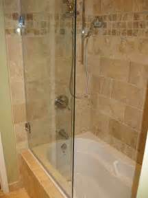 tub shower combo glass doors bathtub glass shower doors decor ideasdecor ideas
