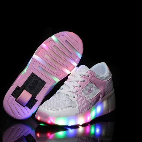 chaussure lumineuse a blanche pour enfant
