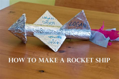 How To Make A Paper Rocket Ship That Flies Far - twelve months of twelve months of