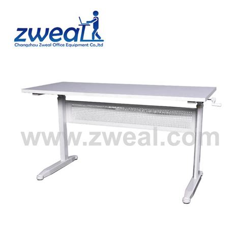 Office Desk Up And Manual Ergonomic Adjustable Up And Office Workstation