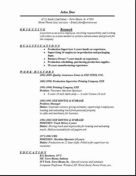 Research Resume by Research Resume Occupational Exles Sles Free Edit