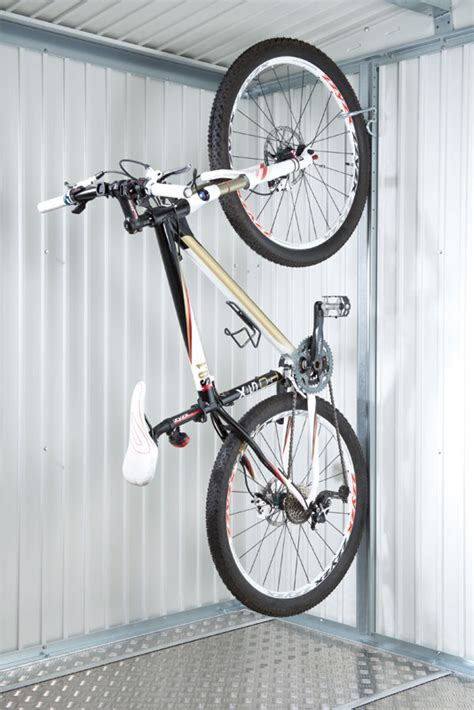 fahrradhalter garage biohort fahrradhalter bikemax europa gartenhauszubeh 246 r