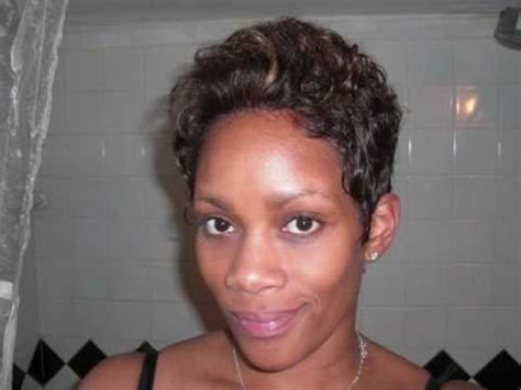 cutting back of halle berry wig marilyn wig cut halle berry style color p4 27 youtube