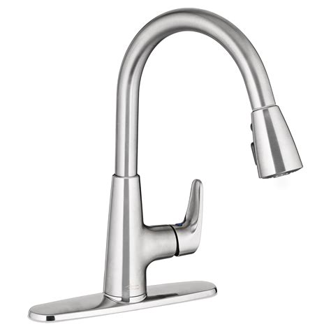pulldown kitchen faucets colony pro pull kitchen faucet american standard