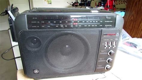 ge superadio iii  fm receiver product review youtube