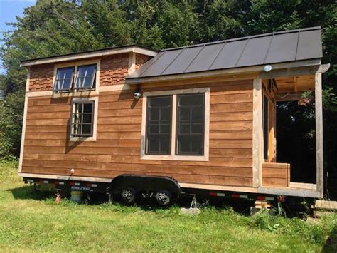 how to build a mortgage free small house for 5 900 man designs and builds his own mortgage free tiny house