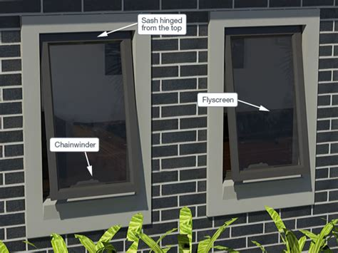 awning type window types of windows doors