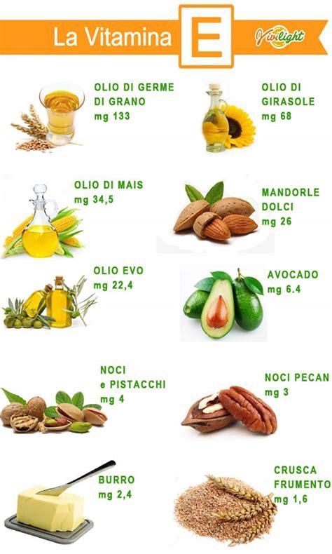 alimenti contengono la vitamina d vivilight la vitamina e propriet 224 e cibi la