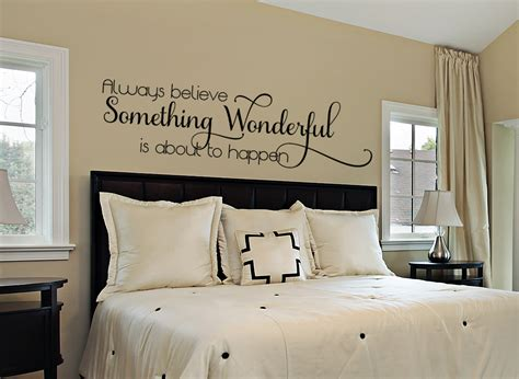 inspirational wall decal bedroom wall decal bedroom