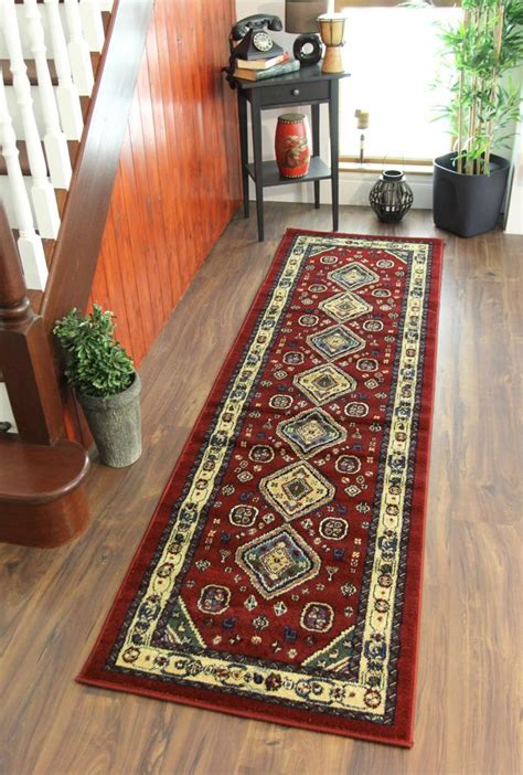 rug runners for hallways cherry beige green traditional afghan style hallway carpet runner rugs ebay