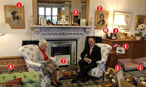 pictured  queens sitting room  balmoral
