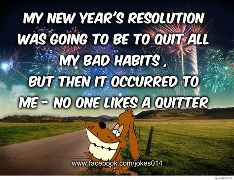 funny happy  year resolutions images sayings cards