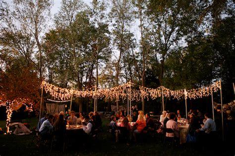 backyard wedding lighting ideas colorful diy backyard wedding
