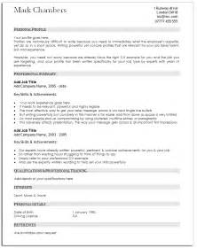 Resume Sle Template by A Guide To Traditional Resume Template Resume Sles