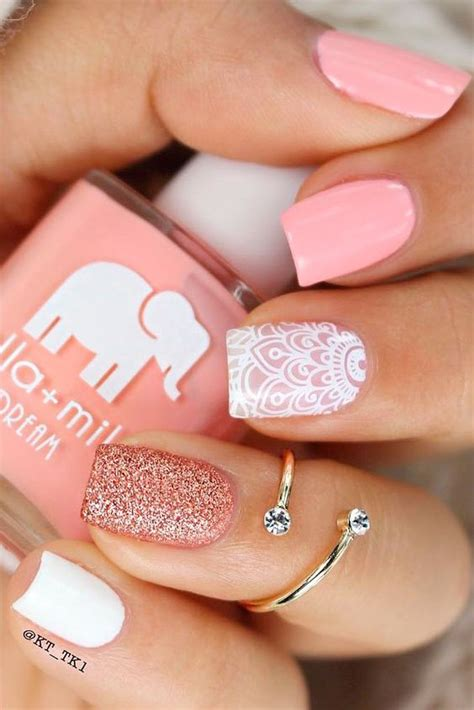 Over 50 Nails | over 50 designs for perfect pink nails quoteslodge is