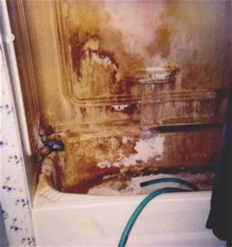 Orange Stains In Bathtub by Iron And Water Treatment For Iron Air Water Quality Maine