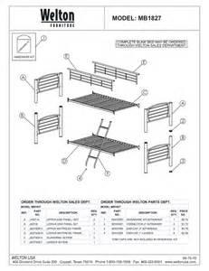 Metal Bunk Bed Replacement Parts Bunk Beds Parts My