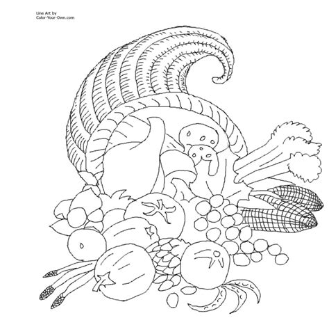 coloring pages thanksgiving by numbers coloring pages