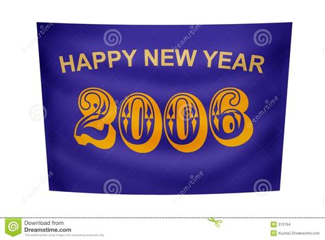 new year banner sparklebox happy new year banner stock illustration illustration of