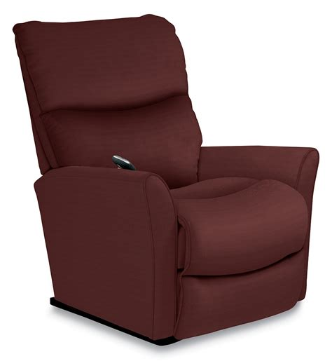 lazy boy fabric recliners rowan powerreclinexr reclina rocker 174 recliner