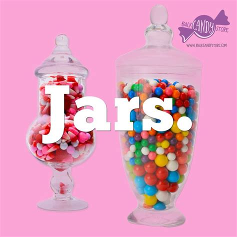 46 best candy jars images on pinterest candy stations