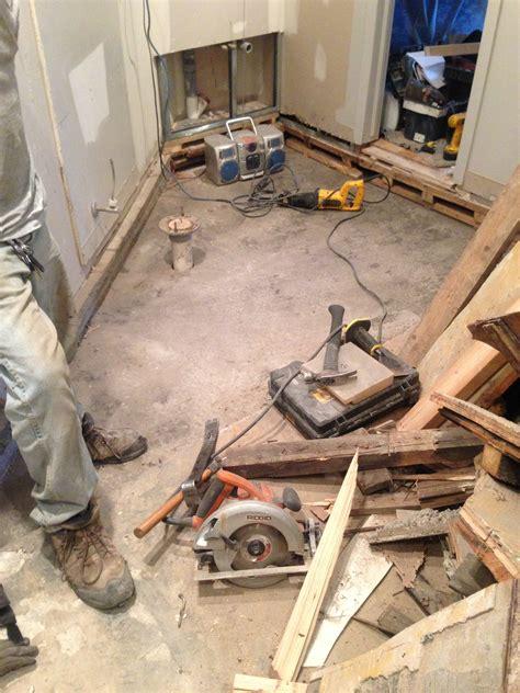 construction of bathroom bathroom under construction eon ca