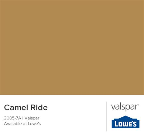 valspar paint color chip camel ride