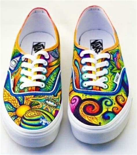 Decorated Shoes by Shoes Decorated Vans Vans Wheretoget