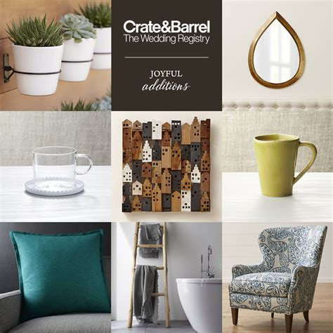 Wedding Registry Ideas by Crate And Barrel Beyond The Basics Wedding Registry Ideas