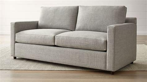 barrett track arm sofa reviews crate  barrel