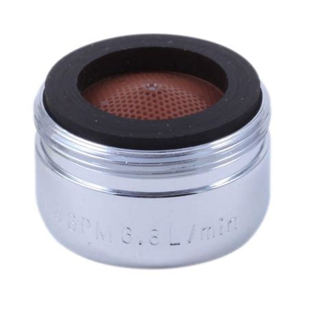 kitchen faucet aerator delta 2 2 gpm windemere kitchen faucet aerator in chrome