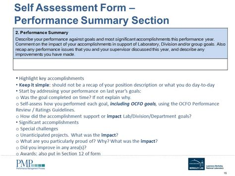 assessment section self assessment form student discipline reflection form