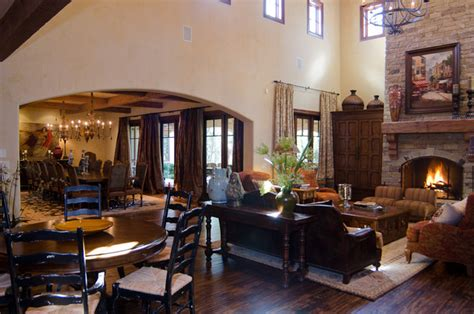 hill country dining room texas hill country style traditional living room