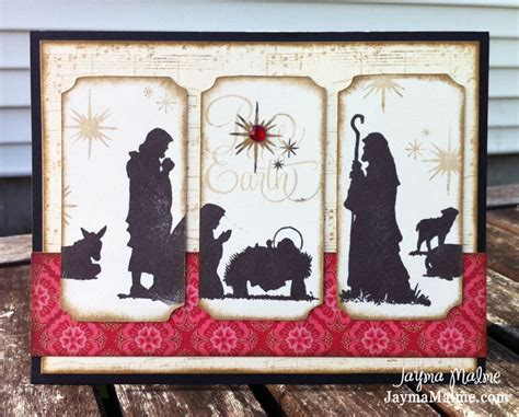 cards with nativity with paper scrapbooks cards diy my favorite