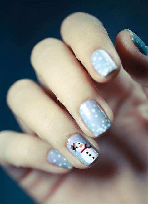 tutorial nail art pupazzo di neve nail art unghie natale 2014 foto stylosophy