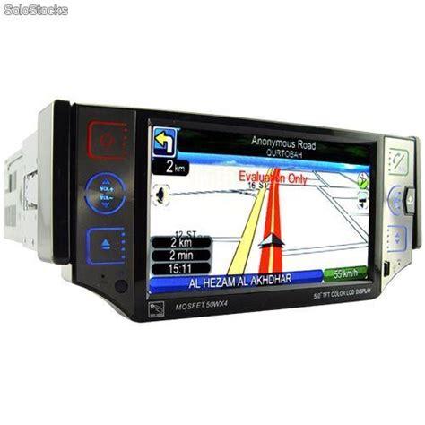 Gps Software Din autoradio 1 din gps 5 pantalla tactil extraible gama