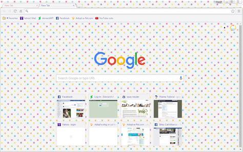google chrome themes girly pretty pastel polka dots google chrome theme by sleepy