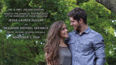 ben seewald and jessa duggar wedding details about jessa duggar s wedding week and an